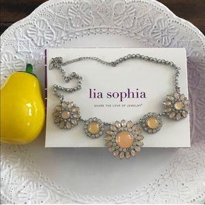 Lia Sophia Christina's Joy Statement Necklace